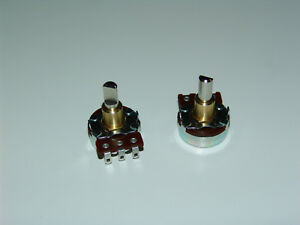 Cts 900 630 Series 50k Ohm Audio Taper Potentiometer lot Of 100pcs