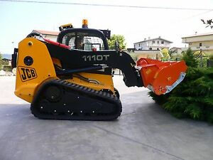 Lipa Tlb f Shredder Mower Mulcher For Skid Steer And Bobcat