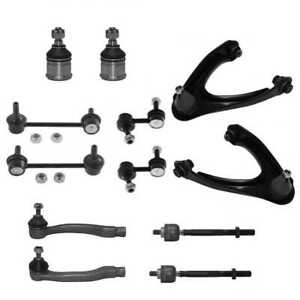 New Front Suspension Kit Control Arms Ball Joints Sway Bars Fits 97 01 Honda Crv