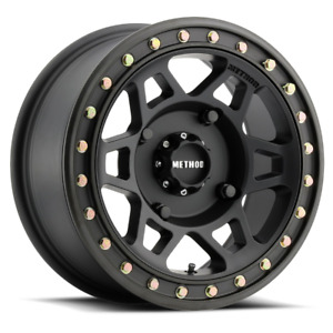 2 14x7 38 4x156 Method 405 Utv Beadlock Black Wheels Rims 14 Inch 51693