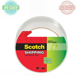 Scotch Shipping Packaging Tape Office Supplies Hot Melt Adhesive Seals 16