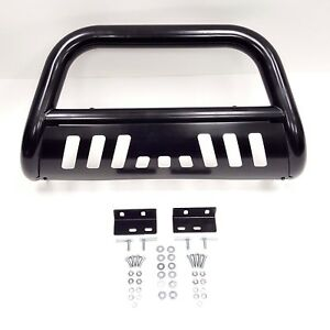Black Steel Bull Bar Bumper Grille Push Guard 3 For 04 11 F150 08 11 Expedition