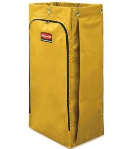 Rubbermaid Commercial Vinyl Cleaning Cart Bag For Janitorial Carts 26 Gal