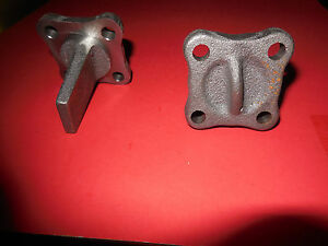 1966 66 Oldsmobile 442 L 69 3x2 Tri Carb Tri Power Intake Xover Block Off Plugs