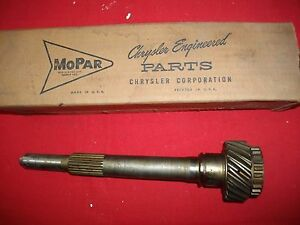 Nos1960 1962 Plymouth Dodge Manual Transmission Input Shaft