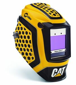 Digital Elite Cat 1st Edition Welding Helmet By Miller Best New Adf Grind Mode