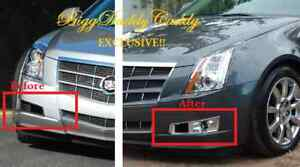Cadillac Cts Base 2008 2009 2010 2011 2012 2013 Complete Fog Light Package