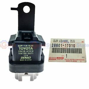 Genuine Toyota Landcruiser 100 105 Series Hdj Hzj 1hz 1hd Fte Glow Plug Relay