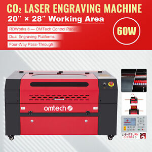 60w Laser Engraving Engraver Cutting Cutter Machine Co2 Laser Arts And Crafts