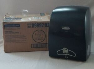 Kimberly Clark Professional Automatic Touchless Paper Towel Dispenser black