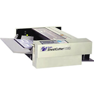 Duplo V 580 Sheet Cutter Programmable Paper Cutter