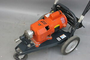 General Wire Model 88 Sewer Snake Drain Cleaning Machine Electric Powered