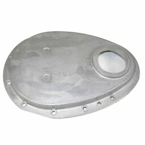 Rpc Racing Power Co R6040raw Engine Timing Cover Raw Aluminum Sbc