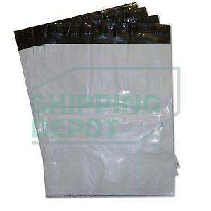 1 1000 19x24 White Poly Mailers Bag Self Seal Shipping 19 X 24 2 Mil