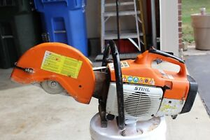 Stihl Ts 400 Cut Off Saw 12 Inch W h20 Low Hours Free Shipping Clean