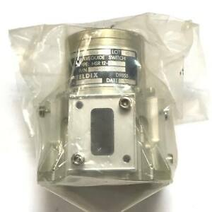Wr 75 Wr75 Waveguide Switch Hsr 12 9 Teldix 1991