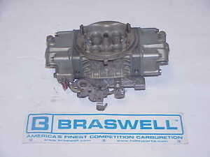 Braswell Holley Hp 830 Cfm Nascar Arca Legal Gas Racing Carburetor Imca Nhra