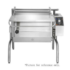 Groen Bpp 40ec Electric Tilting Skillet Braising Pan 15 0 Kw replaces Bpp 40e