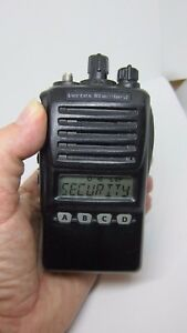 Vertex Standard Vx 354 ag7b 5 Uhf 450 512mhz 16ch Two way Radio