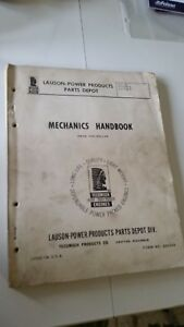 Lauson power Products Parts Depot Mechanics Handbook 2 4 Cyl Form No 690249
