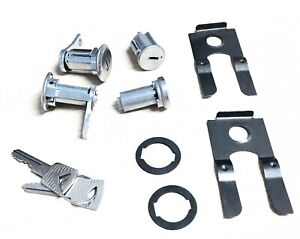 64 65 66 Mustang Ignition Door And Trunk Matched Lock Set 1554bk
