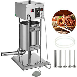 12l Electric Meat Maker Filler Sausage Stuffer Stainless Steel Promotion