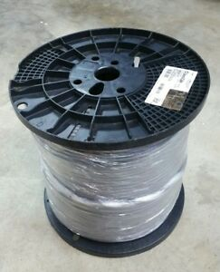 Genspeed 5000 F utp 1000 Cat 5e Gray 4 Pr 2133495e 5enp4p24 s gy r gcc pv New