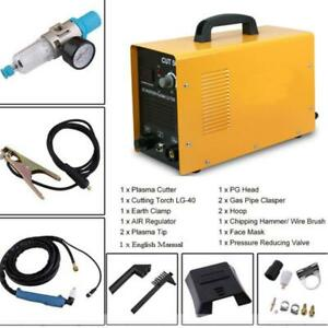 Air Plasma Cutter 50a Cut 50 Digital Dc Inverter Cutting Machine Welder 110 220v
