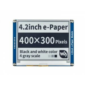 4 2inch E ink Display 400x300 E paper Module Spi For Raspberry Pi arduino stm32