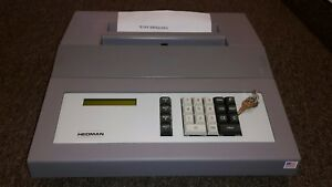 Hedman Co He 1500 Electronic Twelve Digit Programmable Check Writer