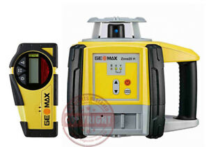 Geomax Zone 20h Self leveling Slope Rotary Laser Level transit topcon spectra