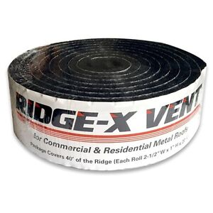 Ridge x Vent Foam For Shingle Roofing Free Shipping And Handling