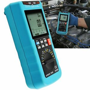Scan Car Engine Analyzer Digital Automotive Multimeter Rpm Voltage Free Shipping