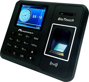 Biotouch Self contained Automatic Biometric Fingerprint Proximity Time Clock