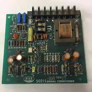 Pti Controls 50215 Signal Conditioner 50215