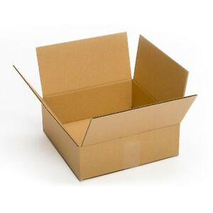 Small Shipping Cardboard Box 12x12x6 25 Pack Mailing Packing Moving Gift Store