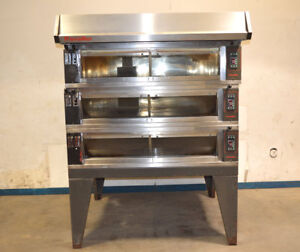 Pavailler Rubis 4b Electric Artisan 3 deck Brick Oven Pizza bread Digital Steam