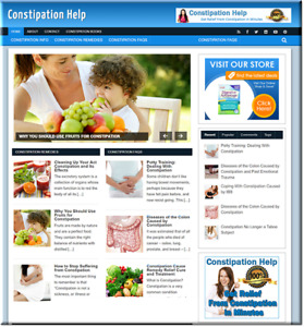 Constipation Ready Turnkey Website Business Earn From Affiliate Adsense