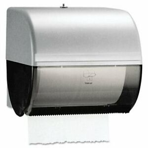 Kimberly clark Omni Roll Towel Dispenser Smoke gray kcc09746