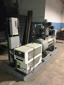 Ingersoll rand Air Compressor W Air Dryer complete Unit
