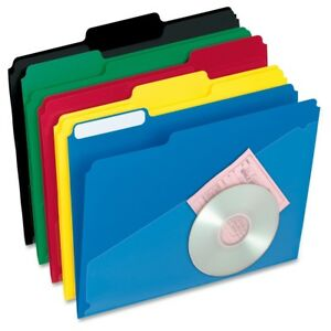 Pendaflex Hot Pocket Poly File Folders Letter 8 1 2 X 11 Sheet Size