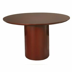 Napoli Conference Tables round Conference Table Sierra Cherry