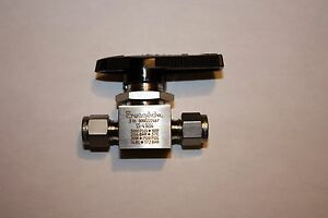 Swagelok Manual 1 4 Turn Valve Ss 43gs4 1 4 Compression 316sst