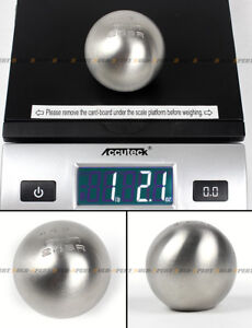M10 X 1 5 Stainless Steel Heavy Weighted Round 6 Speed Shift Knob Ball For Honda