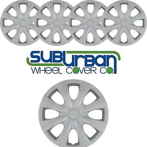 2009 2013 Toyota Corolla Style 450 15s 15 Hubcaps Wheel Covers New Set 4