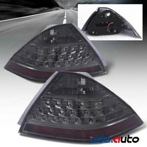 For 2006 2007 Honda Accord Lx ex exl Sedan chrome Smoke Tail Lights Lamps Set