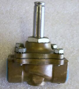 Asco Red Hat 3 4 Solenoid Valve Less Coil Brass Steam Water Gas Nc x