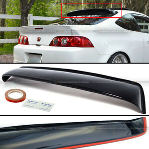For 02 06 Acura Rsx Dc5 Type S Jdm Rear Window Roof Visor Sun Guard Spoiler Wing
