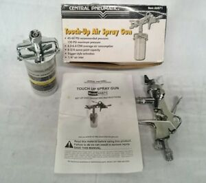 Touch Up Air Spray Gun Central Pneumatic