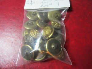 Collection Of Antique Navy Buttons 1890 S 1950 S